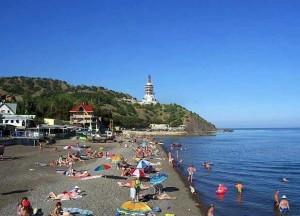 пляж марореченского